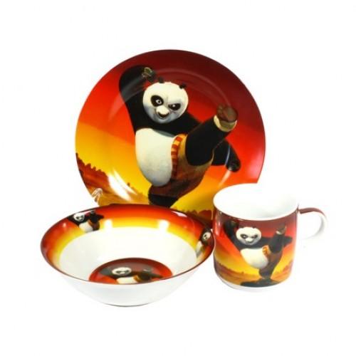 Детская посуда Панда Кунг-фу, купить подарок ребенку
