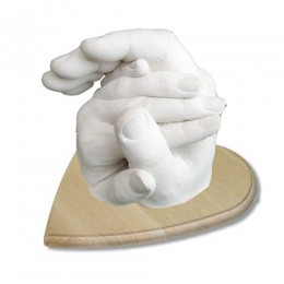 Набор Руки влюбленных с деревянной подставкой