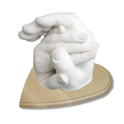 Подарок на свадьбу, оригинальный подарок на свадьбу, подарок на 14 февраля, влюбленным - слепки руки влюбленных!
