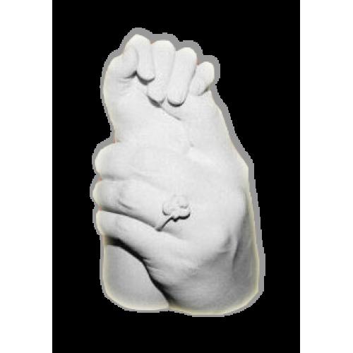 слепки рук Мама и ребенок, набор ЛепKind