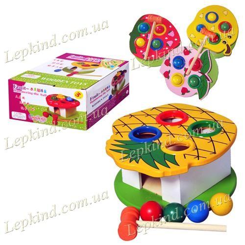 Купить игрушки для детей 2 лет - Деревянная игрушка Стучалка,  купить Винница, Киев, Украина