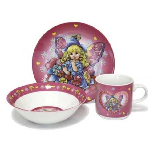 Детская фарфоровая посуда Дюймовочка купить