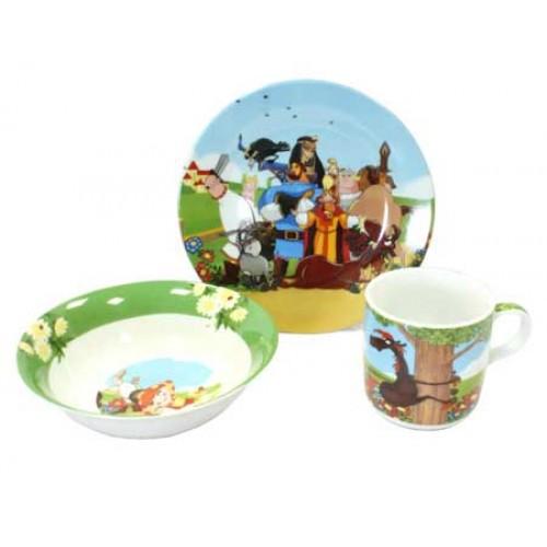 Посуда для детей купить набор Добрыня Никитич