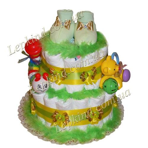 Как сделать торт из памперсов или заказать с доставкой в Киев, Днепропетровск, Харьков, Одесса, Украина
