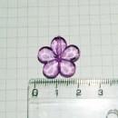 Цветок 2 см, сиреневый