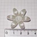 Цветок, 3,5 см, перламутр