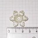 Цветок, 3 см, перламутр