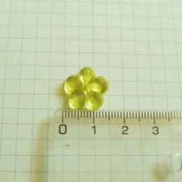Цветок 1,5 см, лимонный