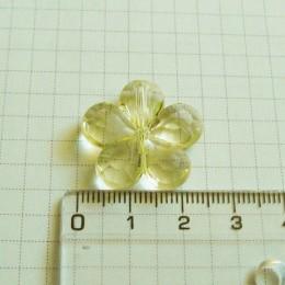 Цветок 2,5 см, лимонный