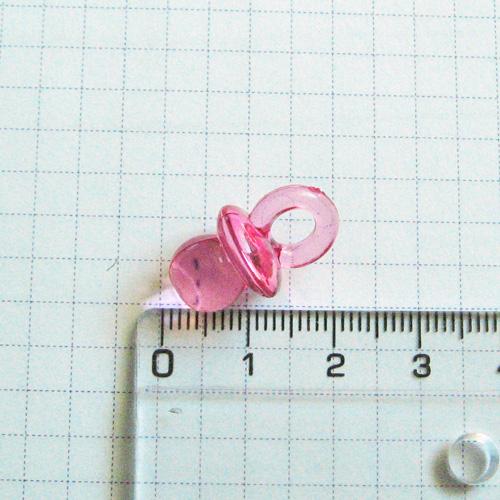 Слепки ручек своими руками, декор для подставки Соска 2 см, розовая