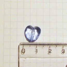 Сердечко 1 см, голубое