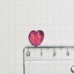 Сердечко 1 см, розовое