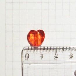 Сердечко 1 см, красное