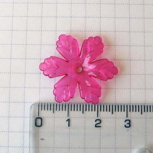 Соцветие, 2,5 см, розовое