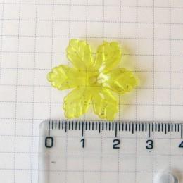 Соцветие, 2,5 см, желтый