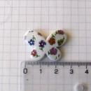 Бабочка 2,5 см, в цветах