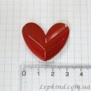 Сердце 3,5 см, красное