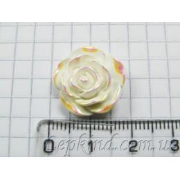 Роза, 2 см, радужная