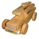 """Эко-конструктор """"Молоковоз"""", деревянный, в пак. 31*20см, произ-в"""