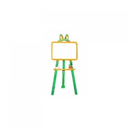 Мольберт для малювання магнітна (для мела и маркера), жовто-зелений, у кор. 50*45*8см (8шт)
