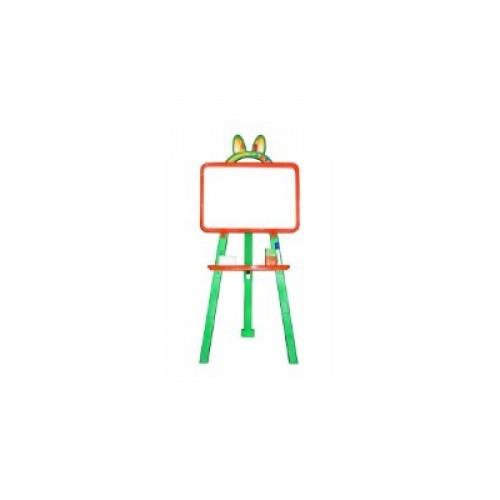 Мольберт для малювання магнітна (для мела и маркера), помаранчево-зелений, у кор. 50*45*8см (8шт)