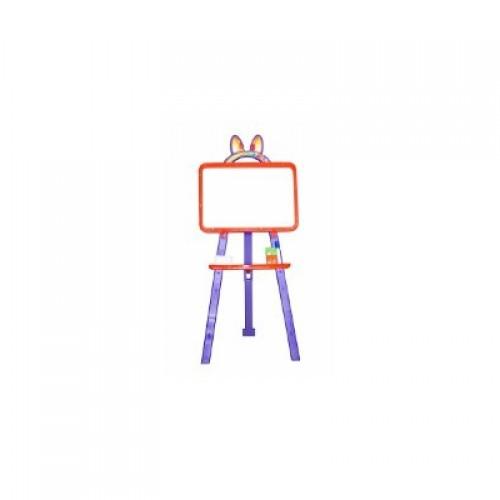 Мольберт для малювання магнітна (для мела и маркера), помаранчево-фіолетовий, у кор. 50*45*8см (8шт)