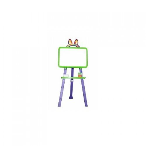 Мольберт для малювання магнітна (для мела и маркера), салатово-фіолетова, у кор. 50*45*8см (8шт)