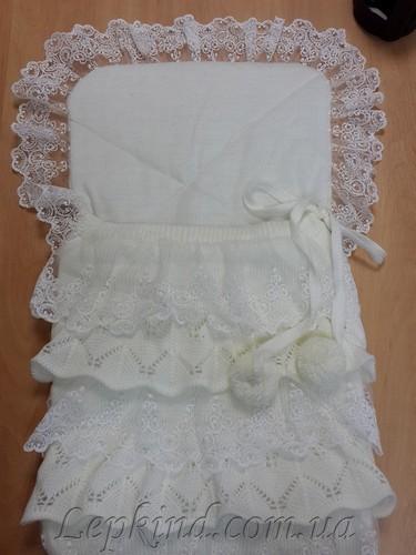 Конверт вязаный для новорожденного, купить в Одесса, Николаев, Херсон, Киев, Украина
