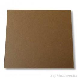Подставка из картона темно-коричневая