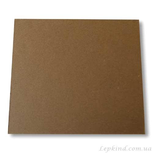 Изготовление слепков детских ручек, Подставка из картона темно-коричневая