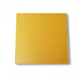 Подставка из картона золото