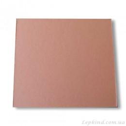 Подставка из картона розовая