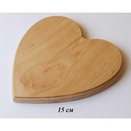 Подставка деревянная Сердце для влюбленных