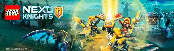 Конструкторы Lego Nexo Knights на lvbrick.com.ua