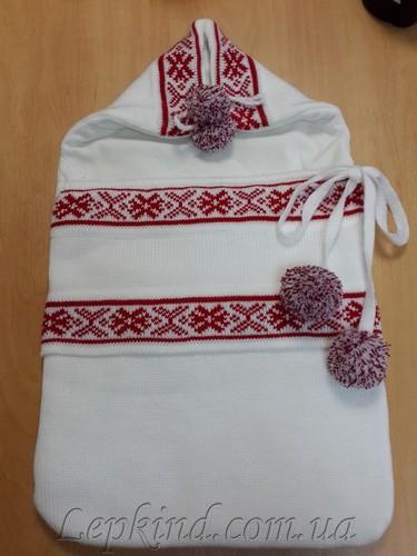 конверт для новорожденного украинский